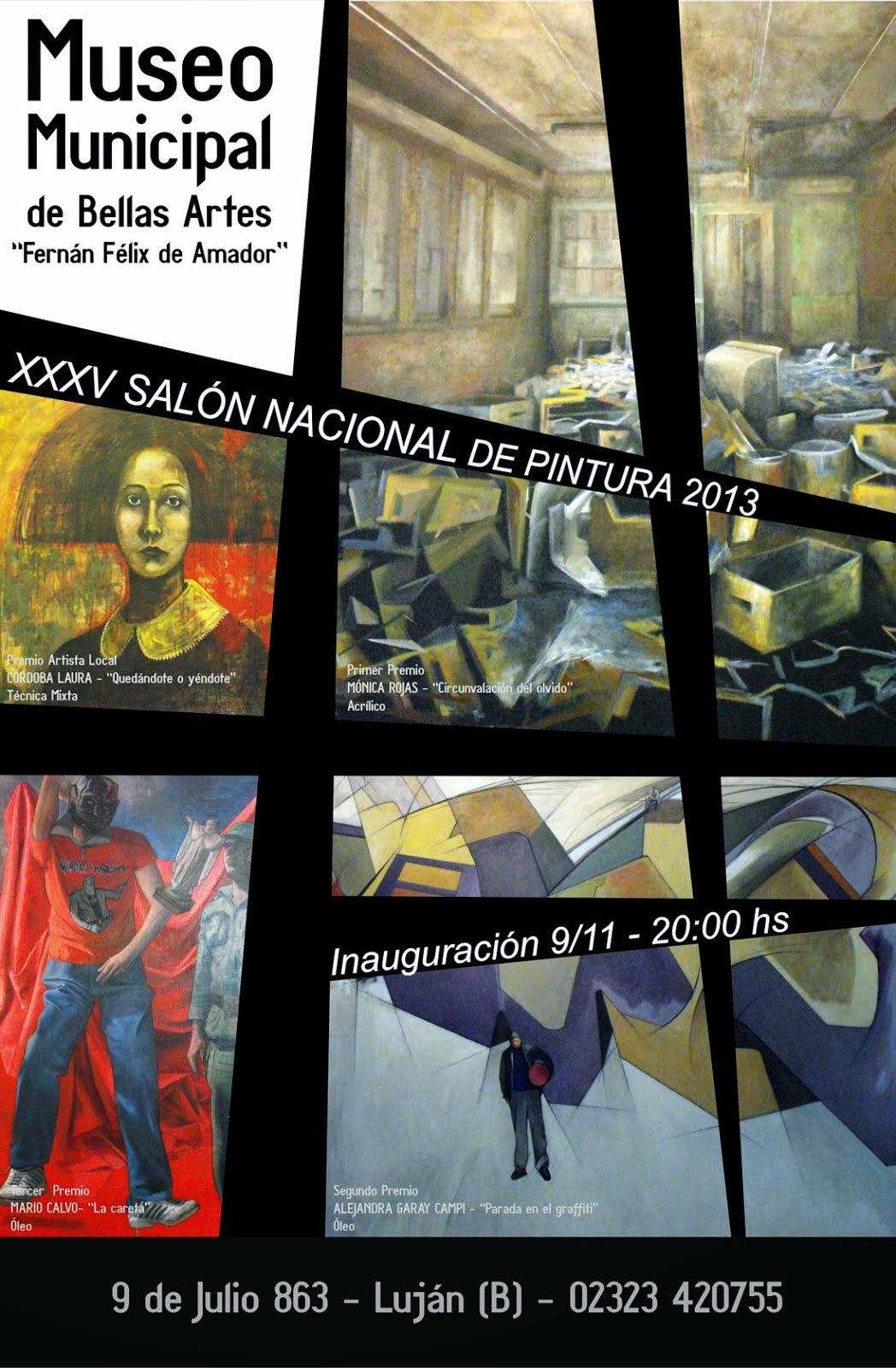 3ER PREMIO SALÓN COLECTIVO FÉLIX DE  AMADOR DE LUJÁN 2013
