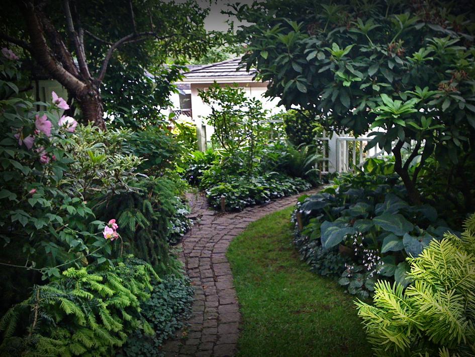 Alex waterhouse hayward for Borges el jardin