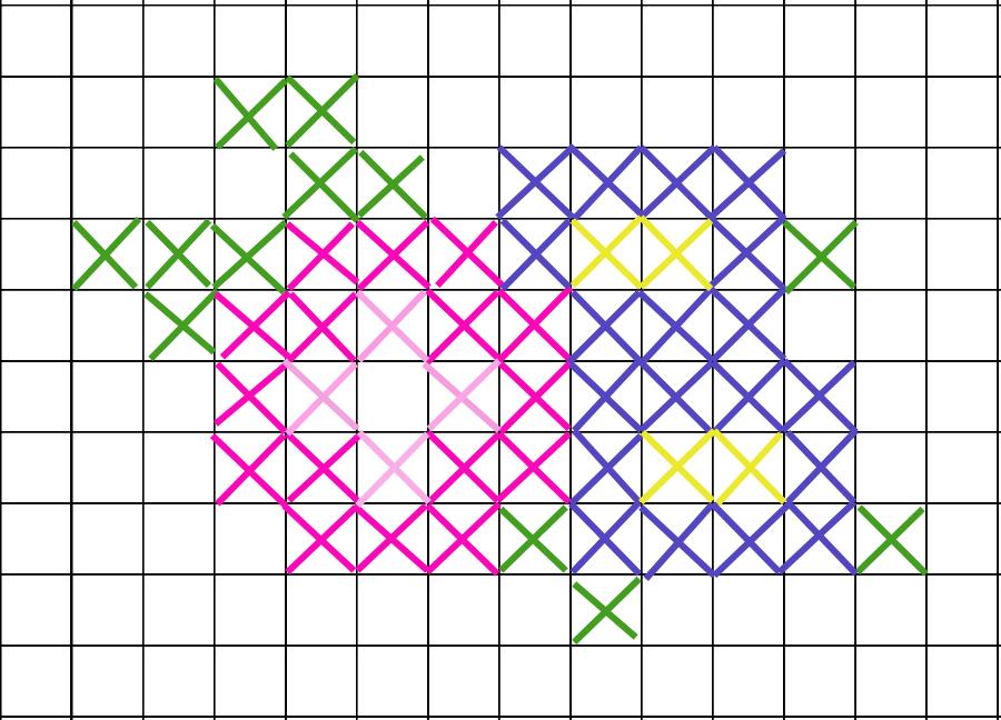 Free Crochet Pattern Cross Stitch Hat Mamachee