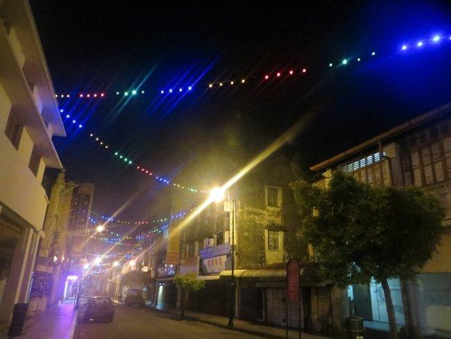 Ночные огни город Джорджтауна