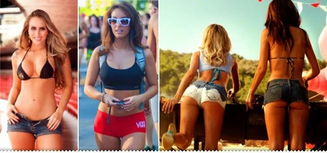 Hipernovas: Elas são lindas, gostosas e adoram shorts curtos e apertados (82 Imagens)