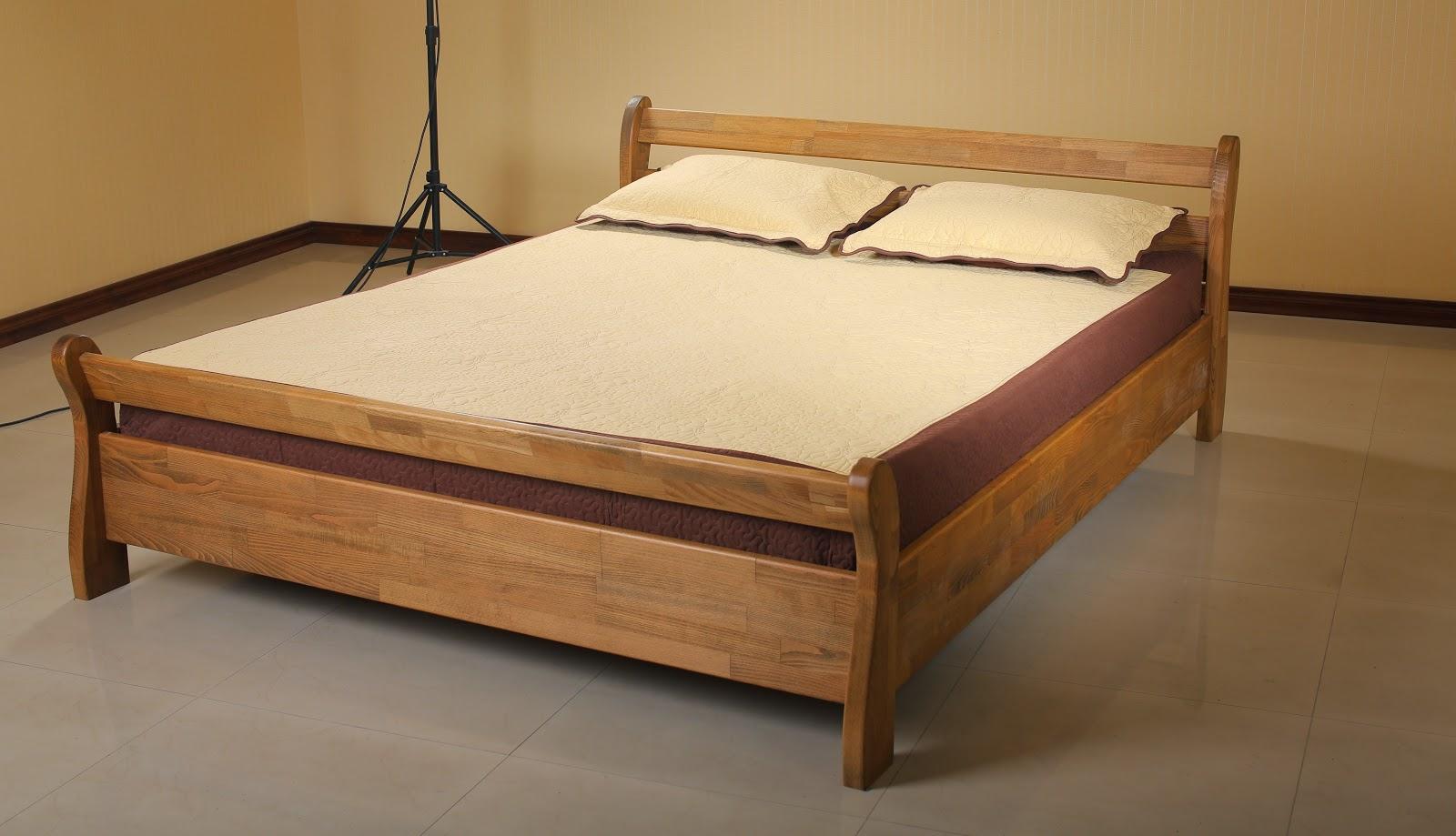 Деревянные кровати из дерева