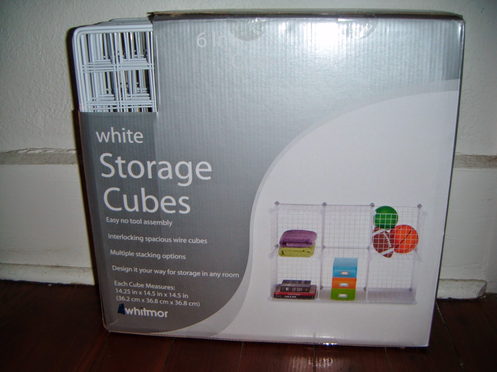 The Whitmor Wire Storage Cubes allow you to create your own storage  solutions based on your specific needs. They