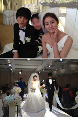 News uee wears an 80 million won wedding dress for for Dress for my brothers wedding