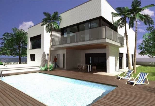 Drywall drywall en colombia tecnicas en yeso for Casas prefabricadas modernas