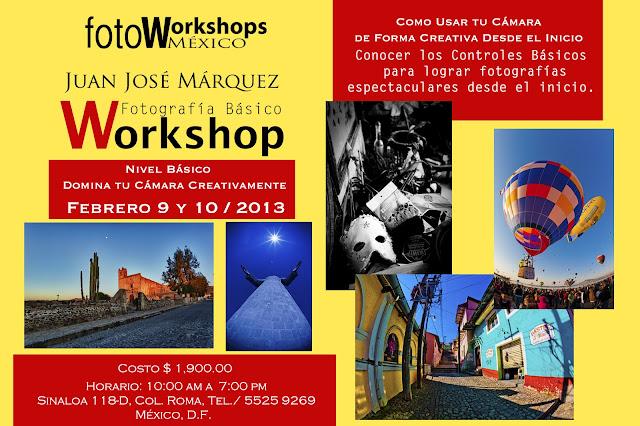 Curso de fotografía Básico Foto Workshops México Curso de Fotografía Digital en México D.F.