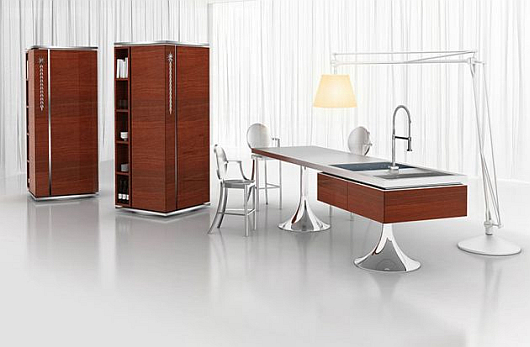 fancy new kitchens warendorf and philippe starck home. Black Bedroom Furniture Sets. Home Design Ideas