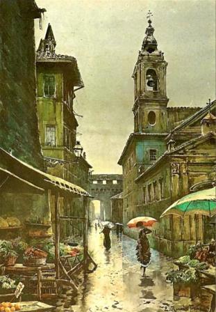 Passeggiate per Roma: Ettore Roesler Franz