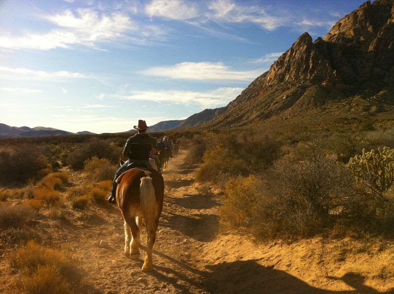 things to do during the day in Las Vegas - horseback riding