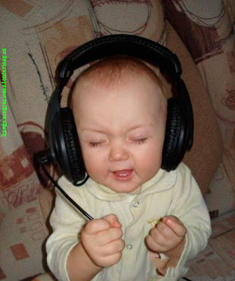 imagenes graciosas de bebes djs