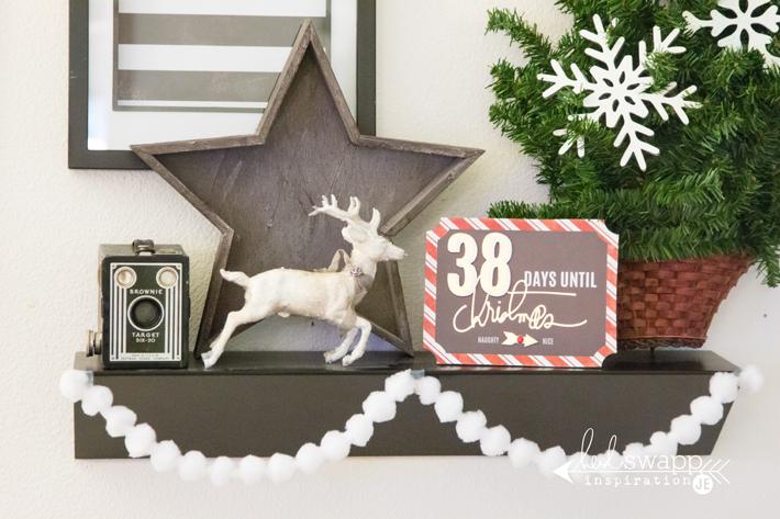 Christmas Tree with @heidiswapp's wall words by @createoften