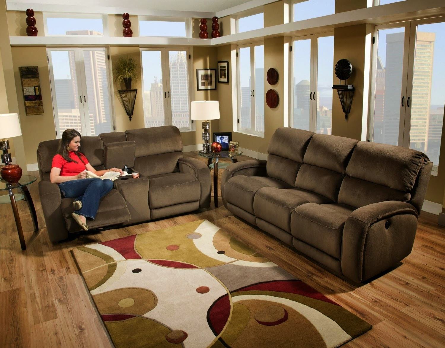 Southern Motion Reclining Sofa