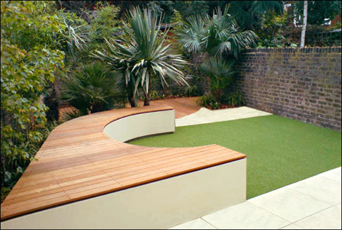 Best modern garden design by amir schlezinger for Cool back garden designs