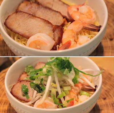 Vietnamese Noodle Recipes - Mì Trứng Xá Xíu