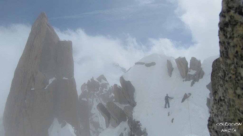 Maniobras de escapismo: Aiguille du Midi: \