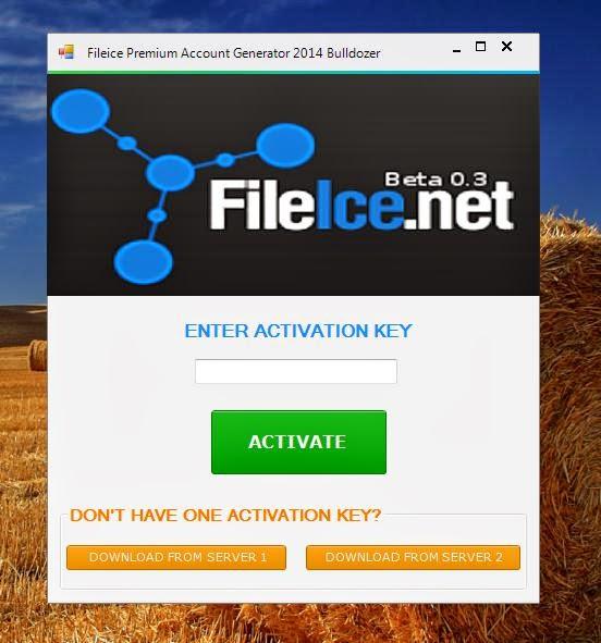 fileice premium account generator bulldozer incl activation key 2014