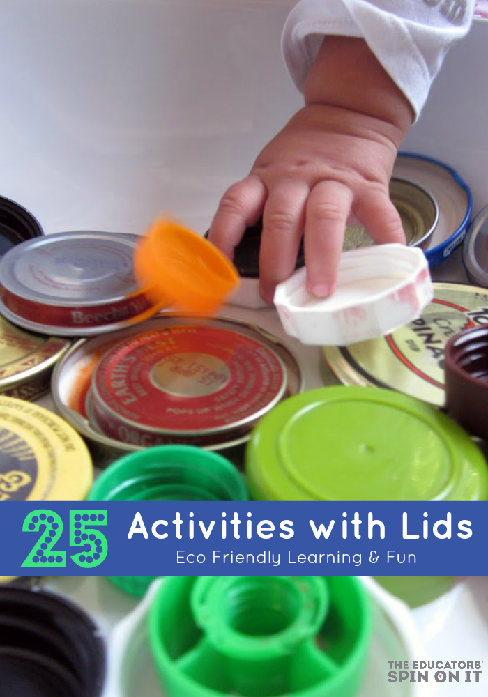 25 Activities with Lids for Kids