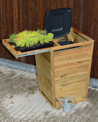 Plant Herbs and make your Wheelie Bin Look Great!