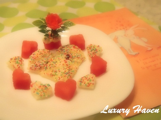 funbites valentines day fruity recipes