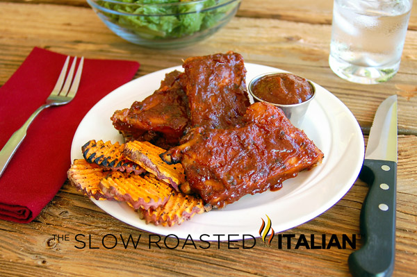 Bourbon Barbecue Pork Baby Back Ribs : In true Southern tradition ...