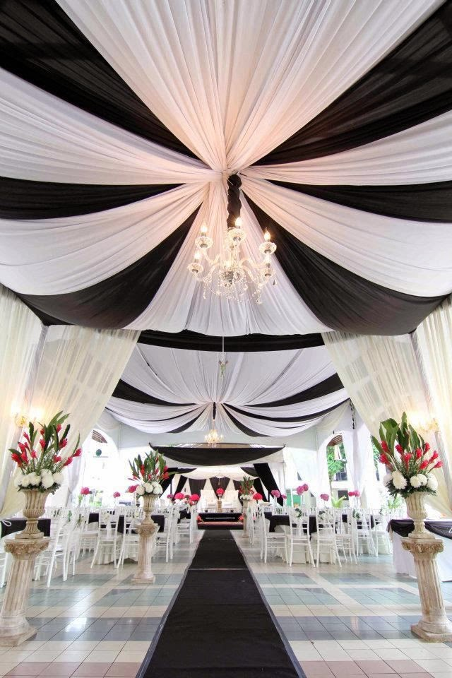 black and white wedding theme (3)