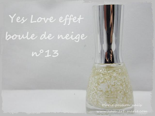 Yes Love boule de neige n°13 1