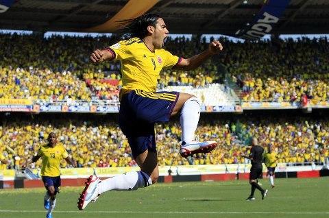 Colombia ganó, goleó y gustó ante Uruguay