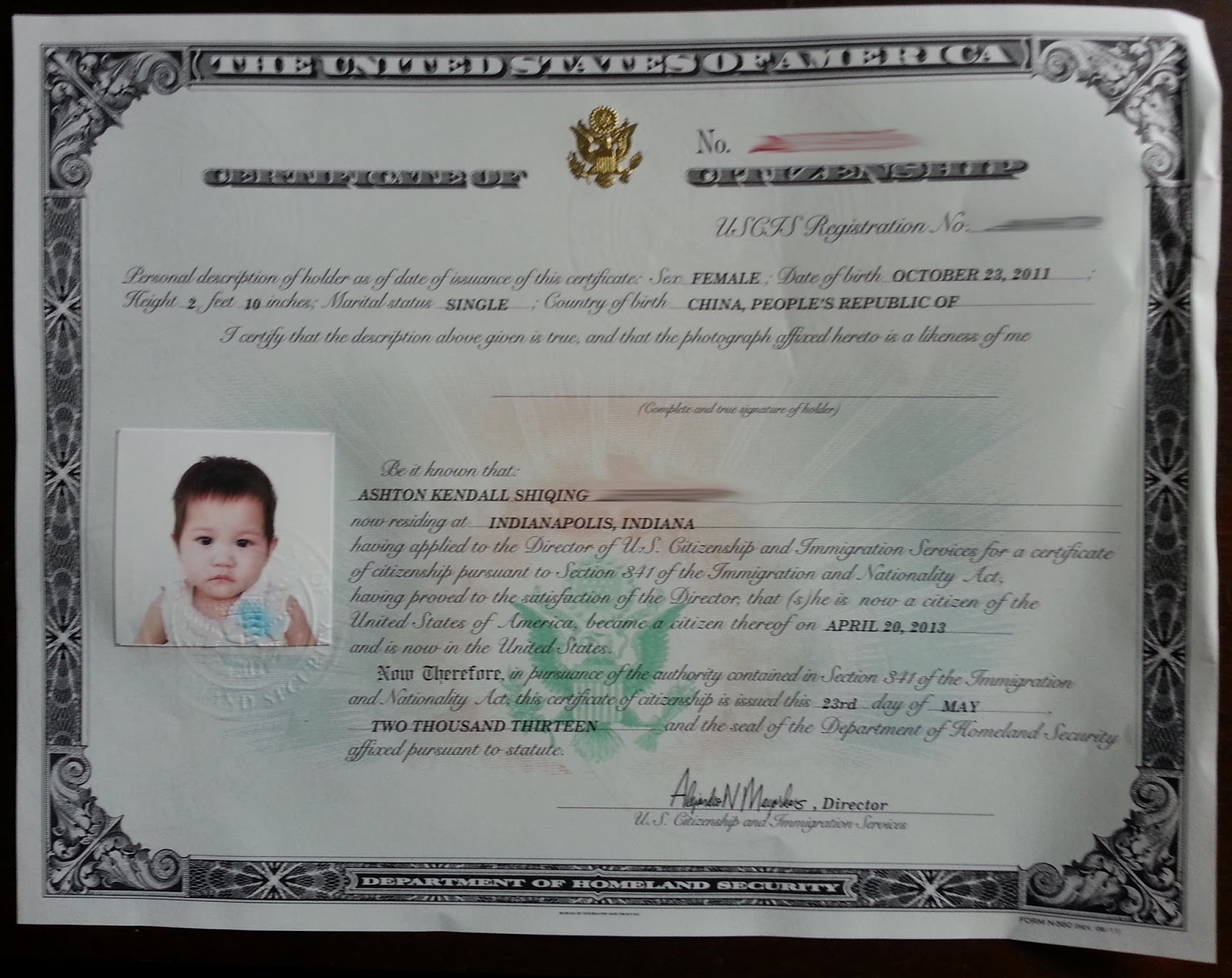 Certificate of citizenship the journey along the invisible red certificate of citizenship xflitez Image collections