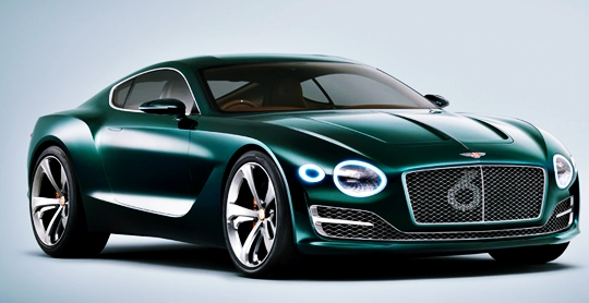 2017 Bentley Continental GT Redesign