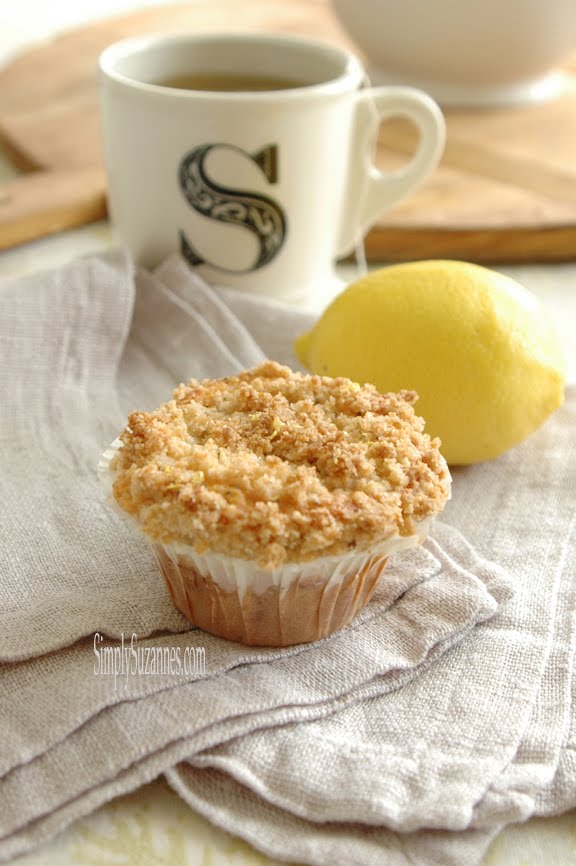 lemon poppy-seed muffins