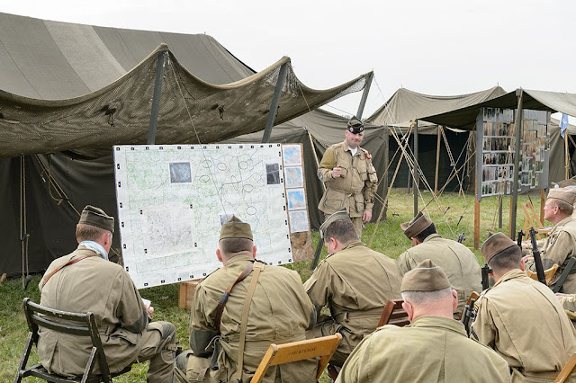 War Briefing at WWII Weekend