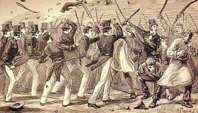 Chartist riots