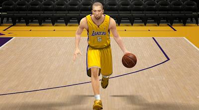 NBA 2K14 Steve Blake Cyber Face Update