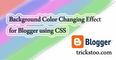 Make Money Online Tricks: Add Background Color Changing ...