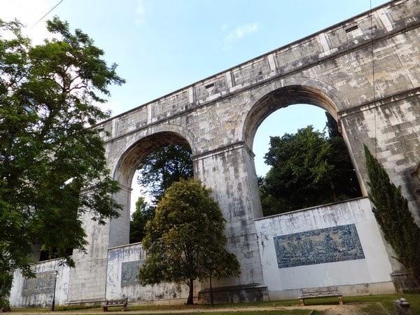 Lisbonne Lisboa Rato aqueduc