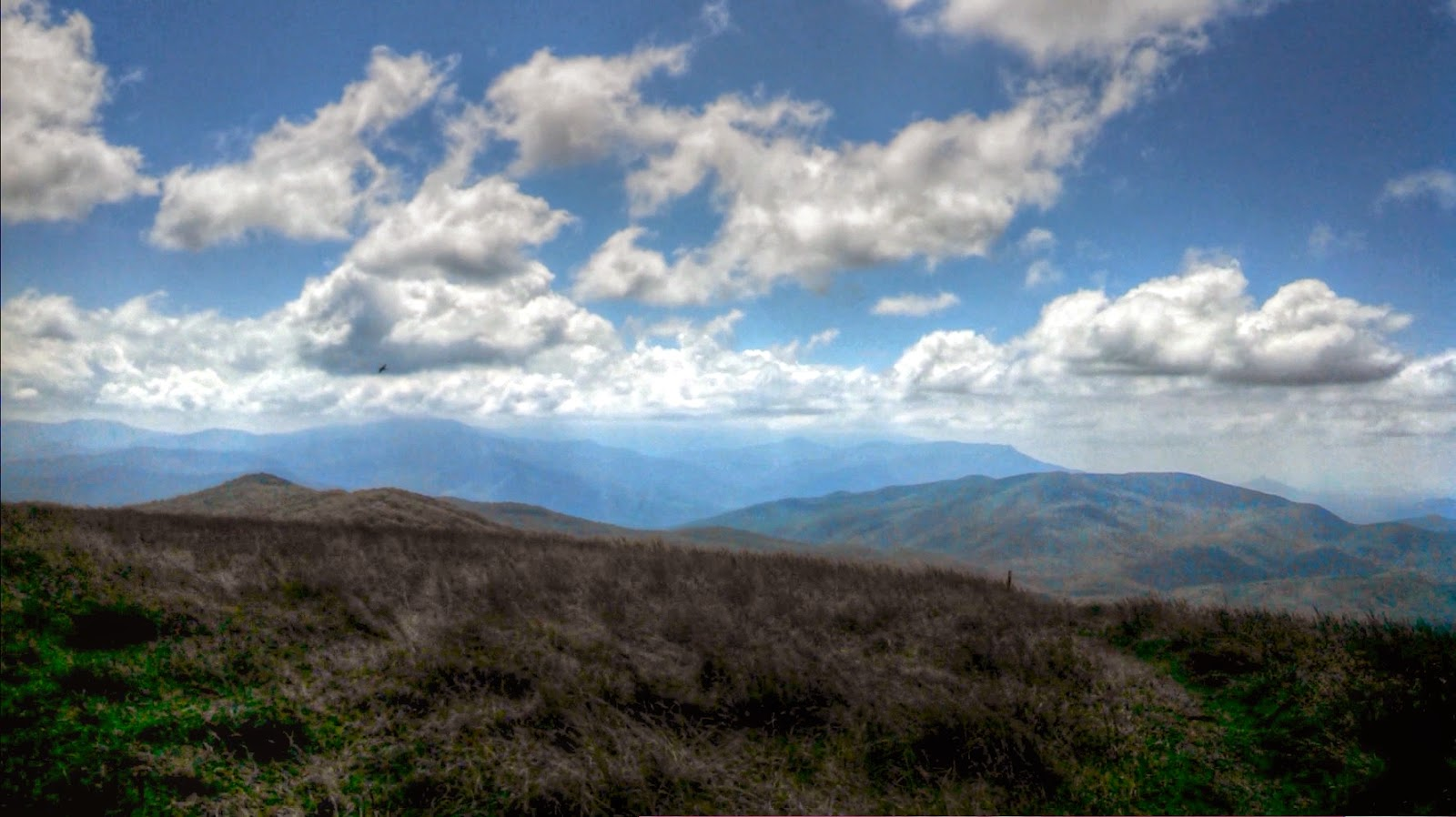 Max Patch Mountain 360 Degree Panorama on Appalachian Trail