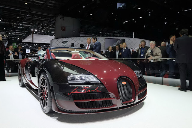 Bugatti Veyron Hybrid