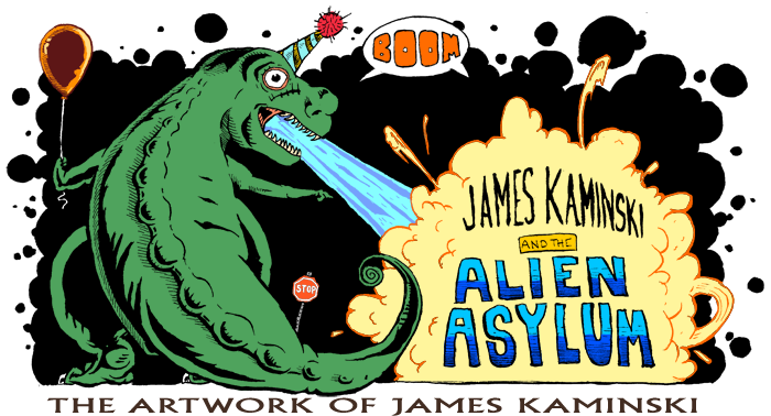 James Kaminski and the Alien Asylum
