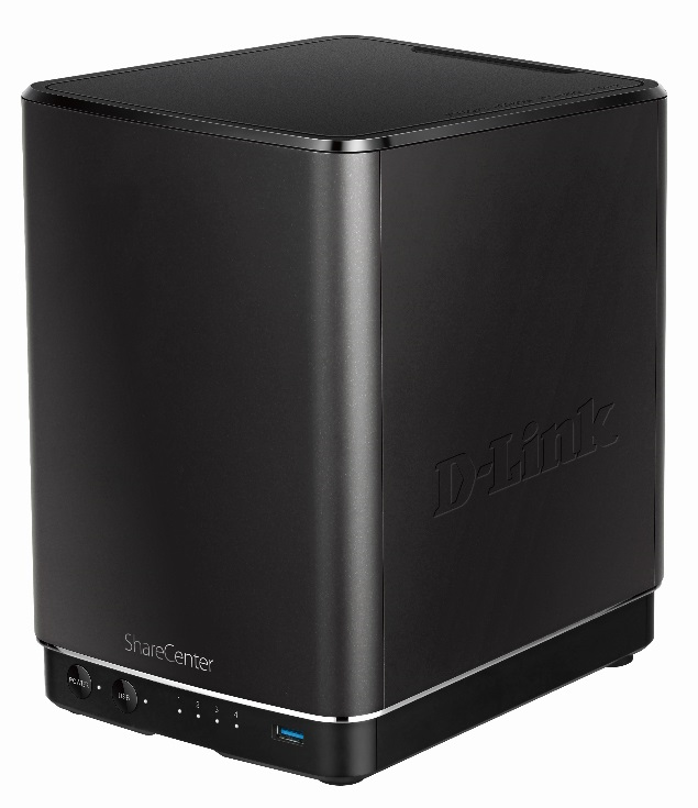 D-Link DNS-340L ShareCentre + 4-Bay Cloud Network Storage Enclosure