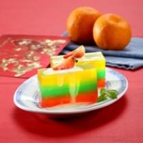 membuat puding warna-warni lezat dan nikmat