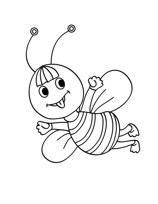 Mi colecci n de dibujos abejas para colorear - Cenefas para dibujar ...