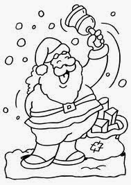 Santa Claus for Coloring, part 1