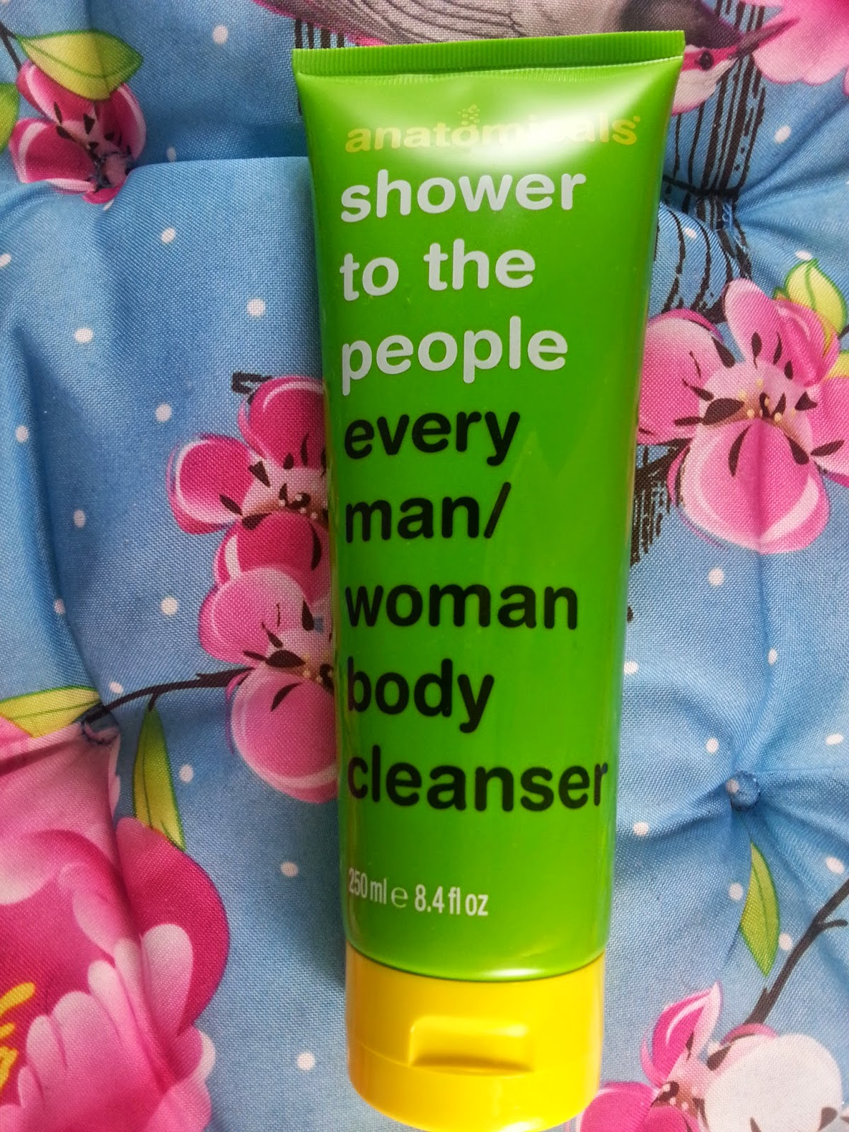 Anatomicals - Shower to the poeple every Man/Woman Body Cleanser - www.annitschkasblog.de