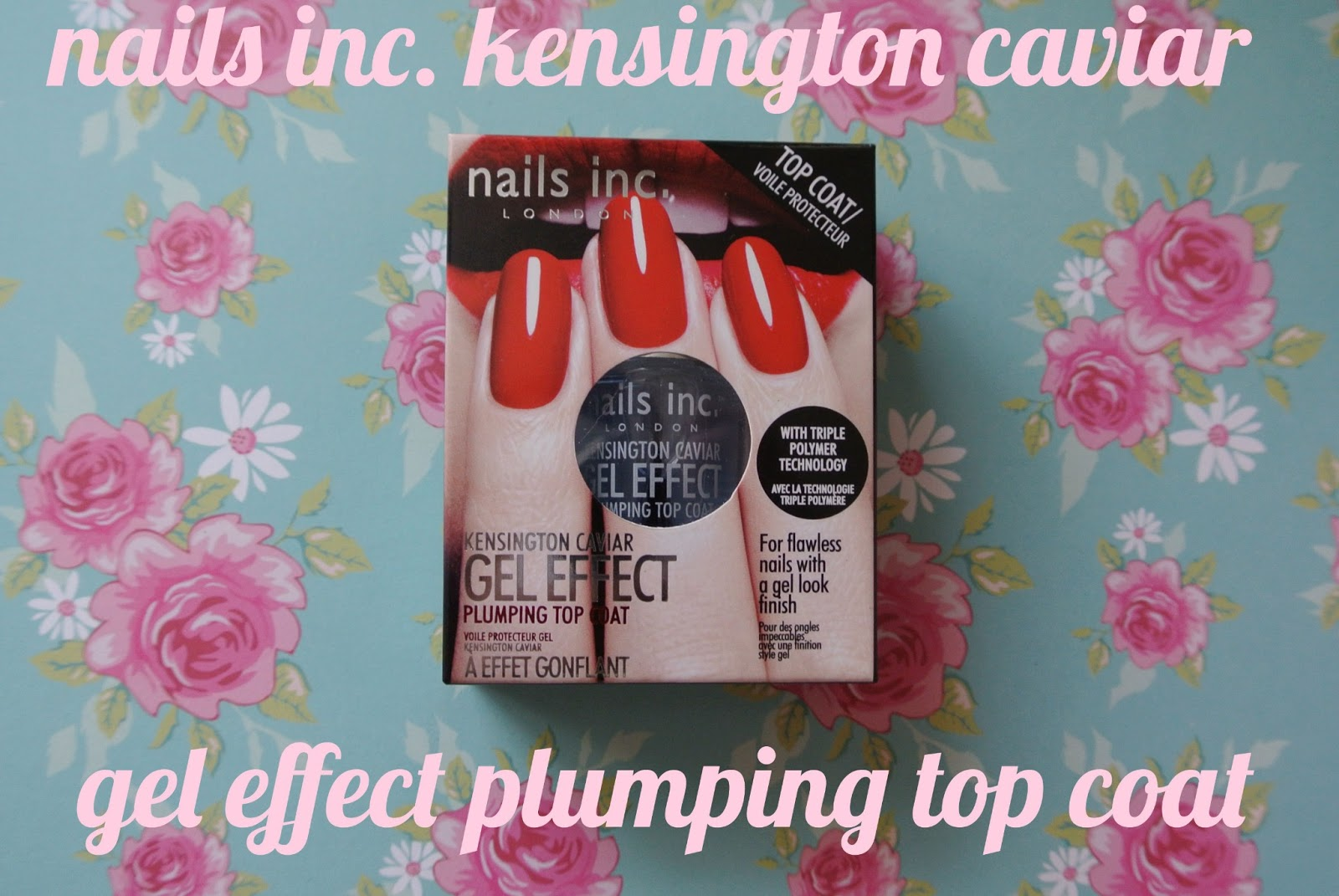 sunday nails #19 - nails inc. kensington caviar gel effect plumping ...