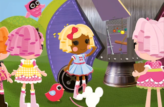 Lalaloopsy Dot's Moon Mission