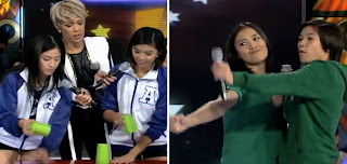 Gandang Gabi Vice March 17 2013 guests Ho Cainglet Gumabao Reyes with Risa Hontiveros