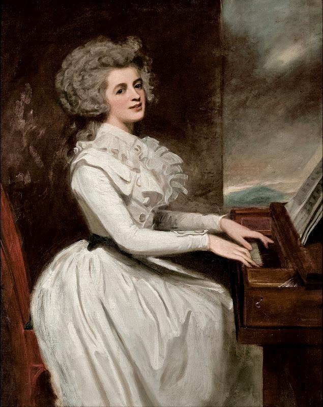 George Romney - Charlotte, Mrs Thomas Raikes