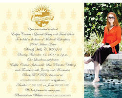 Eclipse Couture Event Invitation