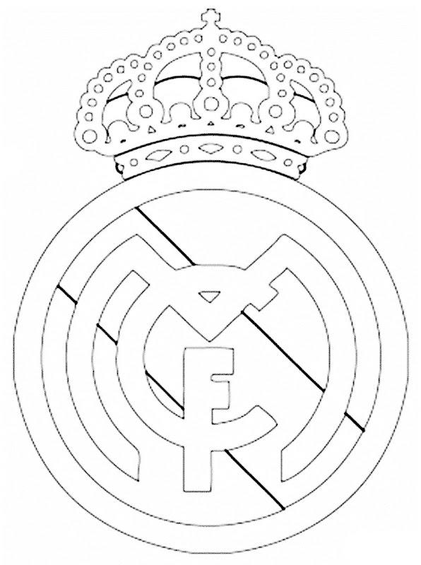 Imagenes Del Escudo Del Real Madrid Para Colorear Escudos Del Real Madrid Para