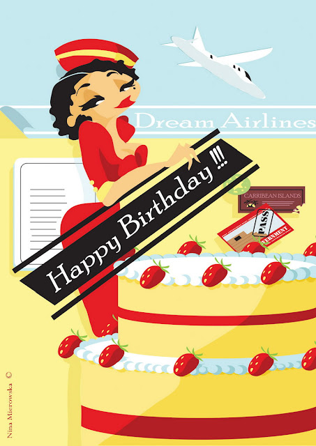 Поздравление стюардессы с днем рождения 4